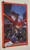 1995 Marvel Comics Avengers poster:Iron Man/Hulk/Captain America/Thor/Dr... - $39.59