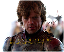 PETER DINKLAGE  Authentic Original  SIGNED AUTOGRAPHED 8X10 w/ COA - $35.00