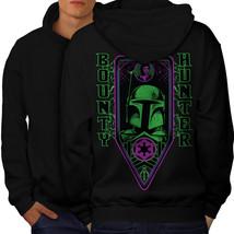 Bounty Hunter Space Sweatshirt Hoody Universe Men Hoodie Back - $20.99+