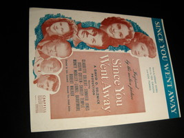 Sheet music since you went away selznick motion picture 1944 chappell  01 thumb200