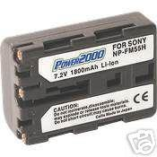 NP-FM55H NPFM55H Battery for Sony DSLR-A100 DSLR-A100H