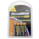 Power2000 8 Pack AAA NiMH Rechargeable Batteries 1000mAh