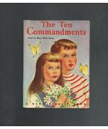 The Ten Commandments, 1962 Children's Book - $3.00