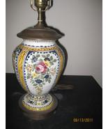 Faience Table Lamp - $185.00