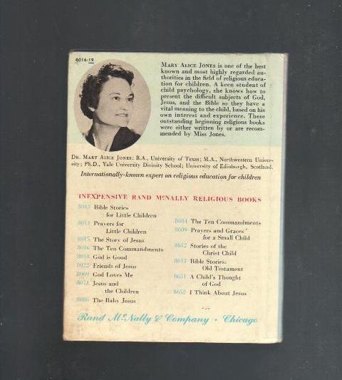 The Ten Commandments, 1962 Children's Book