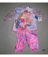 Disney Baby Three Princess Size 12 Mo. Sleepwear NWT - $12.99