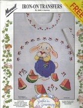 Maxwell Periwinkle of Clover Hill Farm IronOn Transfers - $5.99