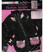 Dimensions Garden Delight Iron-on Transfer Jacket Kit By Karen Avery #80... - $9.99