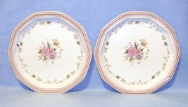 Mikasa Country Place Meadow Sweet FR301 2 Dinner Plates - $8.99