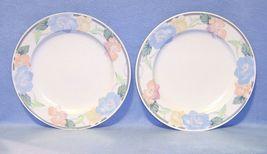 Mikasa Intaglio Garden Poetry CAC08 2 Dinner Plates - $9.99
