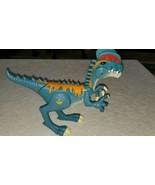 "Jurassic World JW 9"" Blue Dilophosaurus Dinosaur W/ Light & Sound 9"" - $20.79"