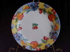 Corelle Fruit Basket Bread Butter Plate Cherries Apples Grap - $4.00