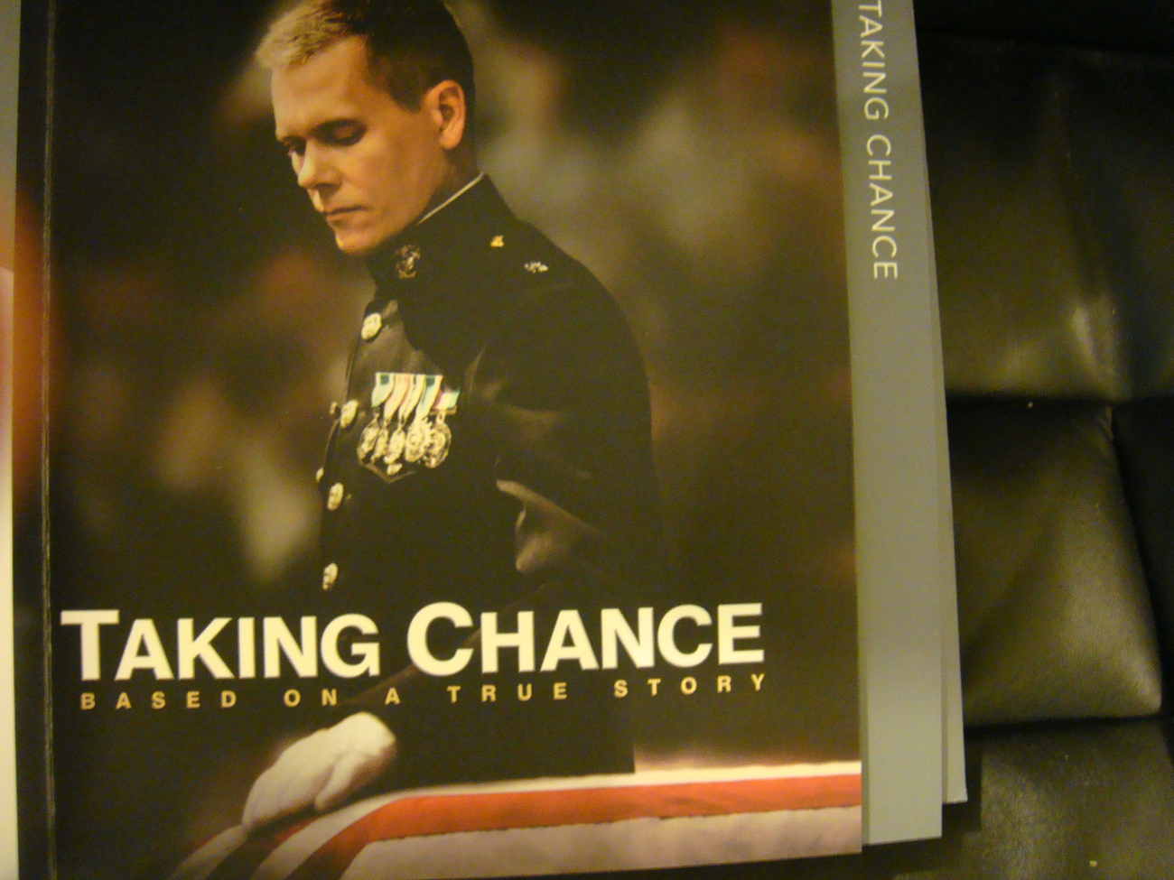 TAKING CHANCE 09 EMMY DVD HBO KEVIN BACON IRAQ MARINE