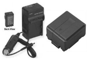 VW-VBG070 VW-VBG070A Battery + Charger for Panasonic