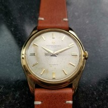 Mens Vacheron & Constantin Geneve 36mm 18k Gold Automatic c.1950s Swiss LV900TAN - $7,821.00