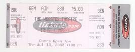 Rare TRUST COMPANY 7/18/02 Hartford CT Webster Theatre Concert Ticket! - $2.96