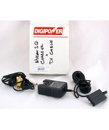 Digipower Battery Charger AC Power Adapter ACD-CN1 TV Cable - $5.00