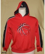 Boys Red and Black Size 6-7 Hoodie - $15.00