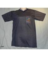 Al - Hawari Petra Jordan Sz M Charcoal Vee Neck Tee Shirt - $7.99