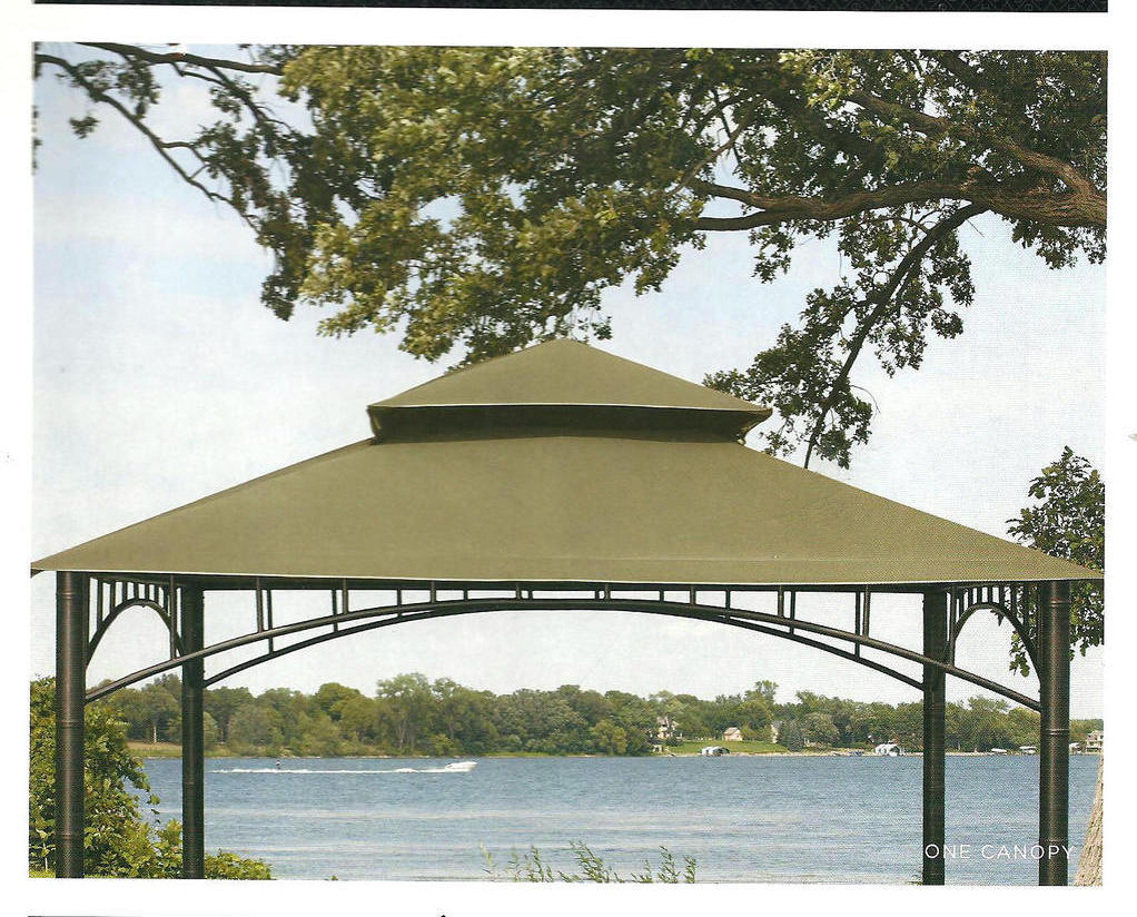 Replacement Canopy Madaga Patio Collection Sage 10 x 10 ...