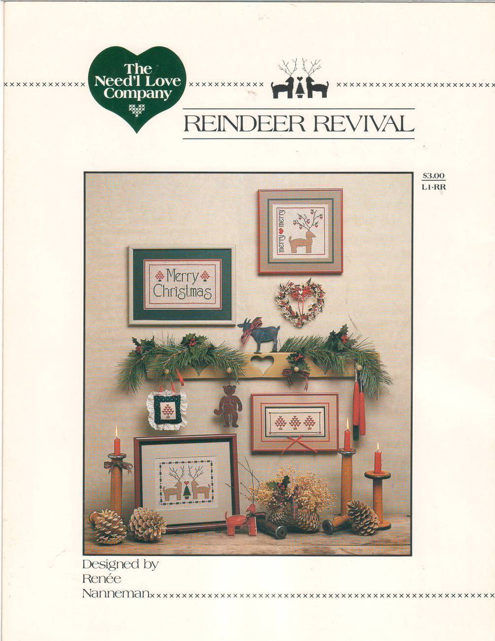 Reindeer Revival - Cross Stitch Pattern