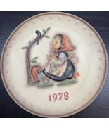 "Goebel - M.J. Hummel 1978 8th Annual Plate ""Happy Pastime"" - $39.59"