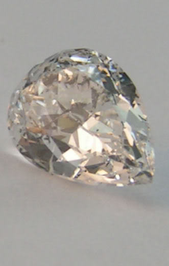 Pear Loose Diamond 1 Ct D SI3 Engagement