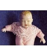 Dollhouse Baby Dressed Heidi Ott HOXB054 sleeping pink slk 1:12 NEW - $37.00