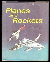 EDWARD VICTOR Planes and Rockets HCDJ 1stED - $18.99