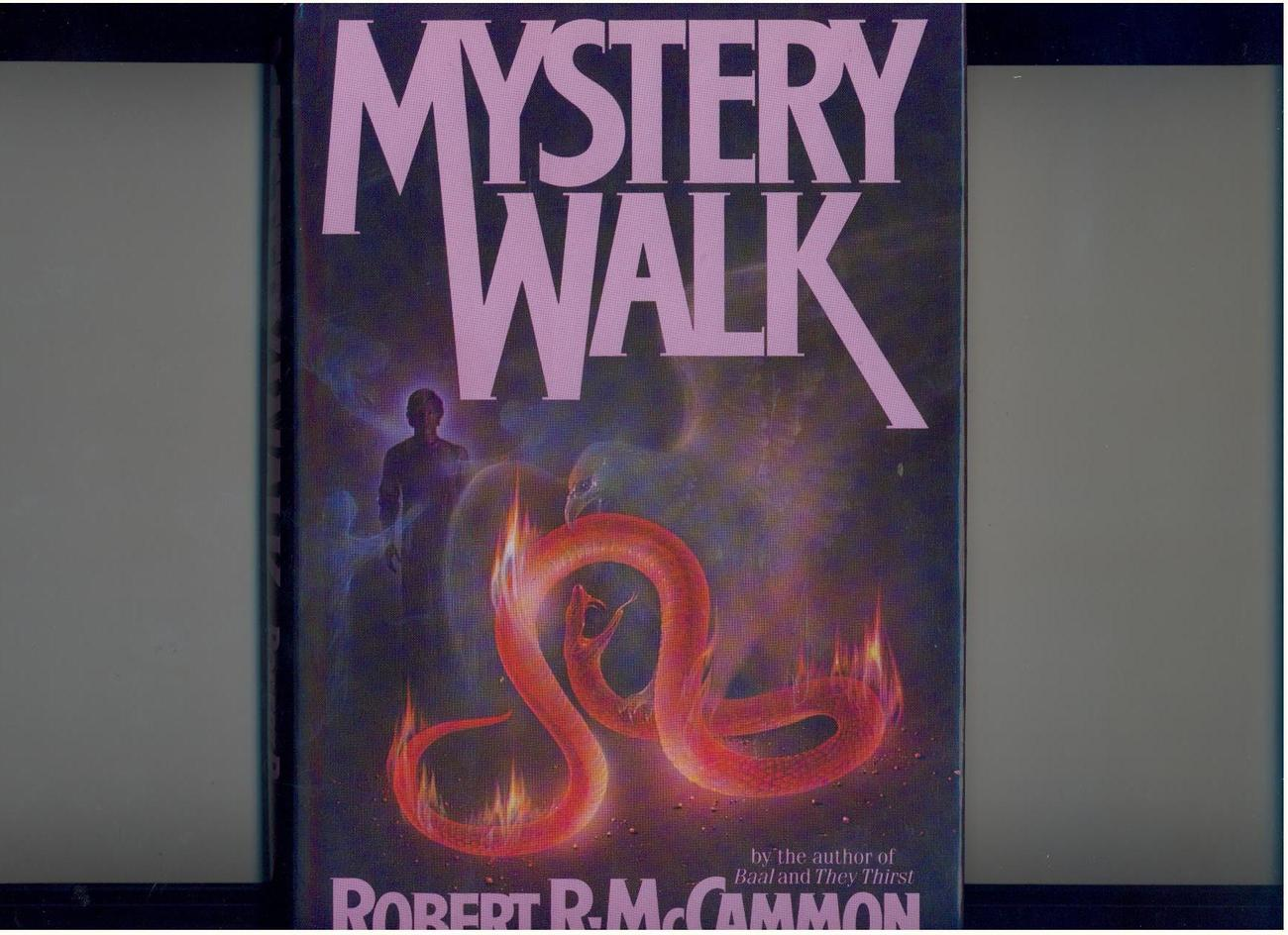 McCammon - MYSTERY WALK - 1983 - 1st, hb/dj - horror
