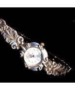 Vintage Silvertone Vivani Swirl Watch - $6.95