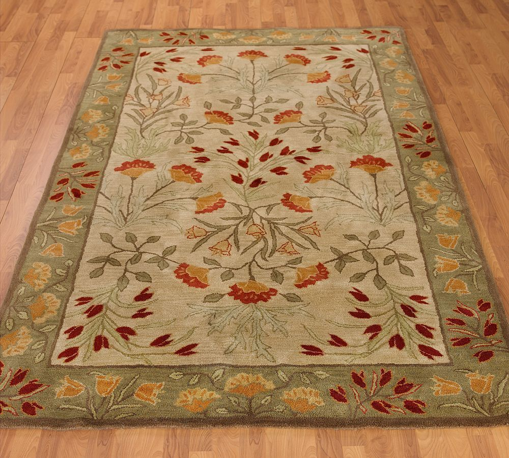 New pottery barn handmade adeline multi area rug 8x10 for Pottery barn carpet runners