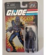 GI Joe 25th Silver Foil COBRA Enemy Leader Cobra Commander 2008 Hasbro - $15.83