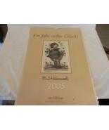 M. J. Hummel 2005 Calendar Ein Jahr Voller Gluck! from Germany - $37.13