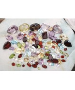 OVER 100 CARATS OF LOOSE NATURAL SEMI PRECIOUS GEM MIX - $21.99