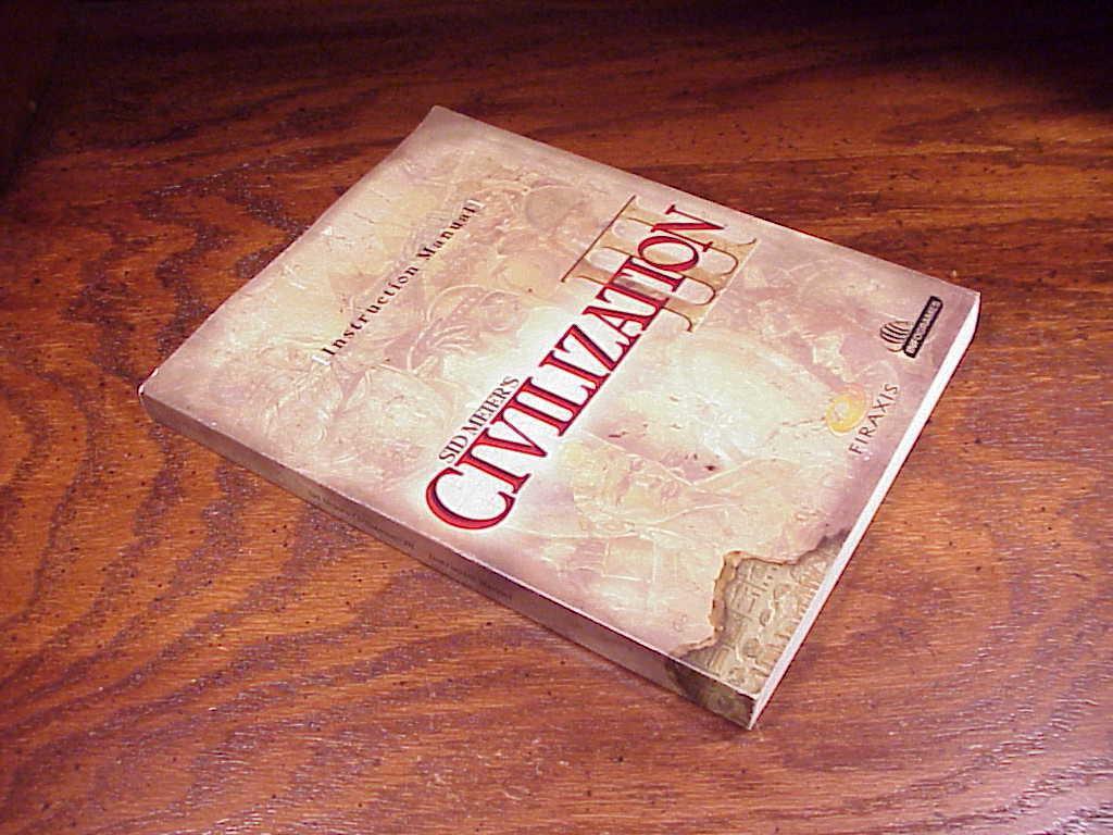 civilization iii pc game instruction manual and 50 similar items rh bonanza com civ 3 instruction manual civ 4 manual