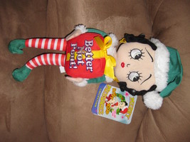 2012 BETTY BOOP CHRISTMAS BETTER NOT POUT New Licensed Plush NWT With Ta... - $7.99