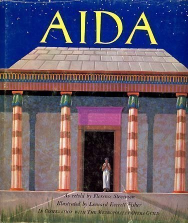 Primary image for AIDA Metropolitan Opera Guild HCDJ1st 1965 by LE FISHER