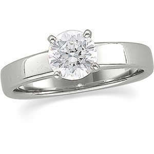 ROUND Diamond Engagement Ring 2.13 Ct G I1 EGL Cert
