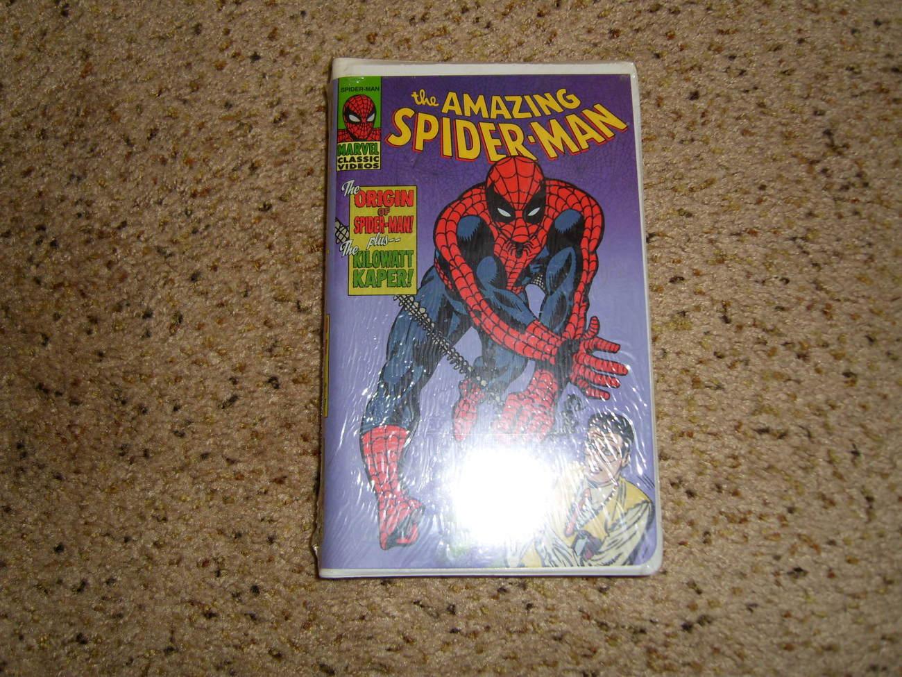 Spiderman vhs
