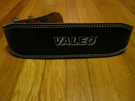 Valeo Leather Lifting Belt