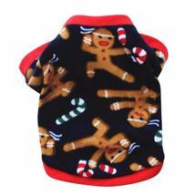 Winter Pet Coat Christmas Dog Warm Sweater Cotton Costume Small Dog Cat ... - $2.08+