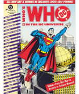 Who's Who in the DC Universe #'s 1, 2 & 3 (1990) Loose Leaf Format - $6.95
