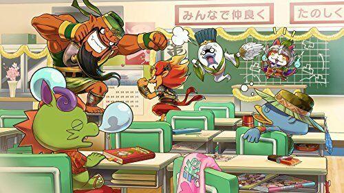 Nuovo Nintendo 3DS Yo-Kai Youkai Yokai Orologio Sangokushi con / Medal image 2