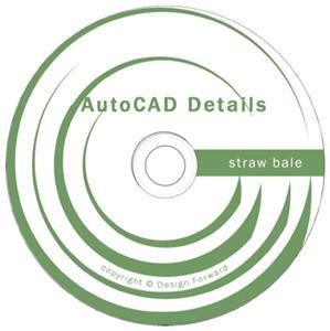 AutoCAD Straw Bale Construction Details CD