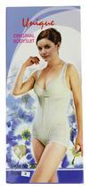NEW WOMEN'S UNIQUE ORIGINAL CLASSIC SLIMMING BODYSUIT SHAPEWEAR BLACK STYLE #007 image 4