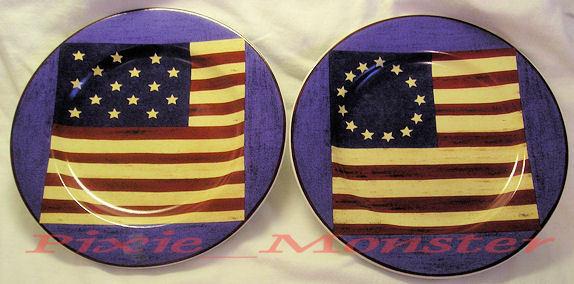 Flag plate 2