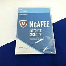 McAfee Internet Security For 10 Devices Model - MIS17ESA0RAA #5860 - $5.99
