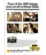 1979 Eastman Kodak Kodacolor 400-speed Films print ad - $10.00