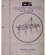 Ferguson F-138 9-Tine Tiller Parts Manual - $8.00